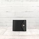 Кошелек square черный из натуральной кожи saffiano, фото 7