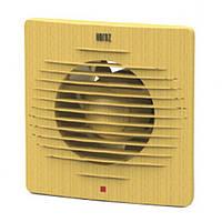 Вытяжной вентилятор HOROZ ELECTRIC 12W D100мм 220V бук