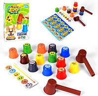 Настольная игра Zoo компания,3+лет,собери зверят по цвету,fun game 59540