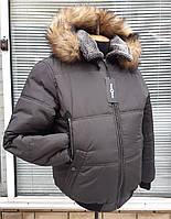 """Мужская,зимняя куртка """"Pilot"""" больших размеров."""