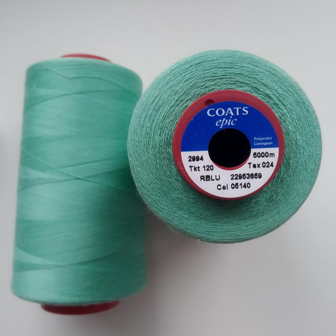 Нитки Coats Epic 05140/ 120, 5000м