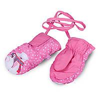 Термоварежки детские. Варежки для девочки TuTu арт 3-005099 (1-2, 2-4 года)