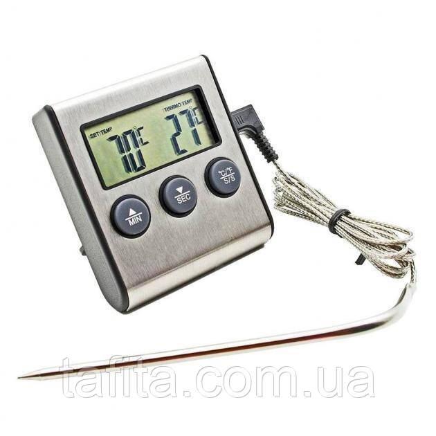 Термометр кухонный с выносным щупом