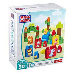 """Конструктор Mega Bloks - """"Животные"""" (First Builders Match 'n Stack Animals Building Set), 50 дет, 1+ (DPY43)"""