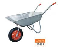 Тачка садовая одноколесная 65л/120 кг