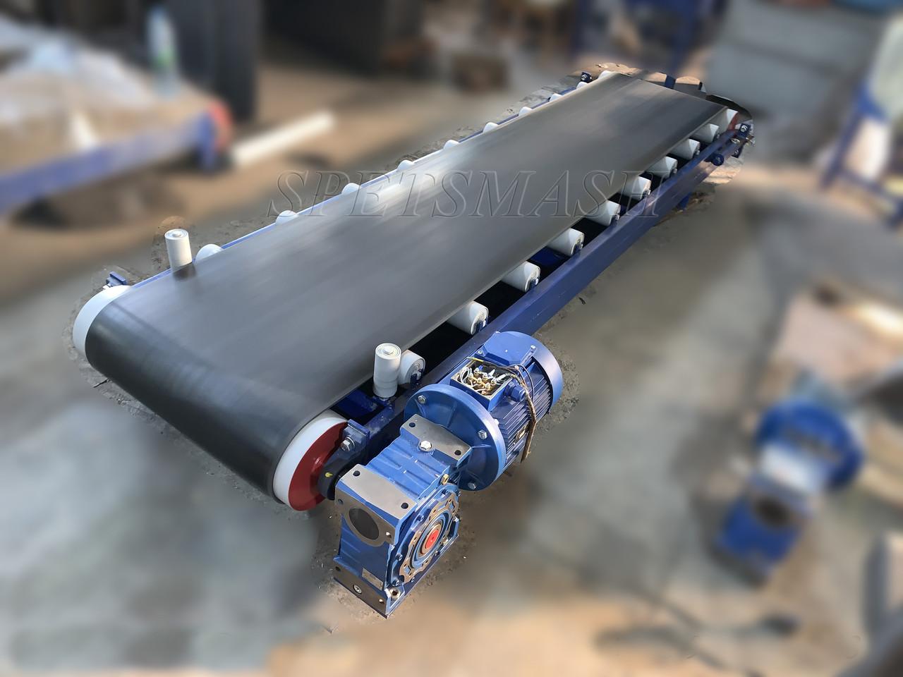Транспортер ленточный с роликом выбранной транспортер