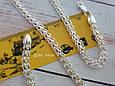 Серебряная цепь Королевский Питон («Американка», «Кардинал»), 55 см. Вес 20,05 гр. 925 проба. Ручное плетение, фото 2