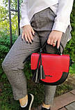 Женская сумка полукруглая, фото 5