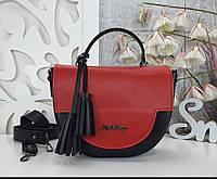 Женская сумка полукруглая