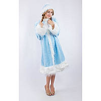 Костюм карнавальний Снігуроньки для дорослого розмір 42-48 (Україна)