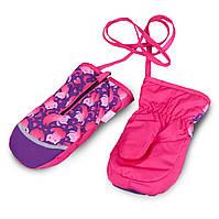 Термоварежки детские. Варежки для девочки TuTu арт 3-005103 (2-4 лет, 4-6 лет), фото 1