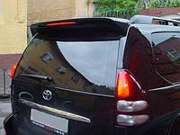 АБС пластик Спойлер со стопом Toyota Prado 120 тойота прадо, антикрыло, козырек Тайвань
