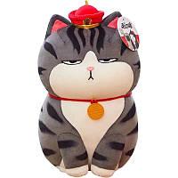 Мягкая игрушка кот кошка плюшевая антистресс