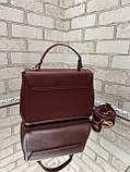 Стильный клатч экокожа качества Люкс арт.0203, фото 2
