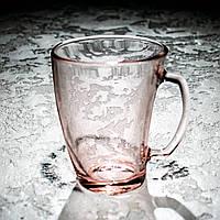 Кружка Шейп рожева 320 мл Luminarc