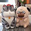 Мягкая игрушка кот кошка плюшевая антистресс, фото 5
