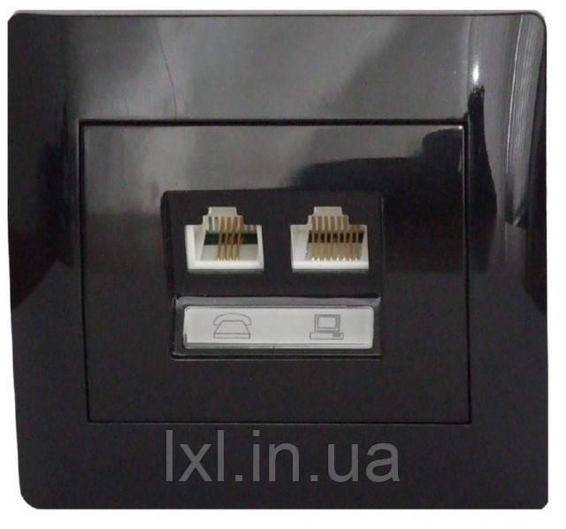 cc5ffb286138 OSCAR Розетка телефон + компьютер cat.5E  продажа, цена в Харькове ...