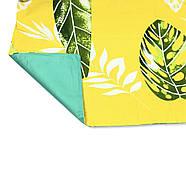 """Евро комплект (Бязь)   Постельное белье от производителя """"Королева Ночи""""   Листья на желтом, фото 4"""