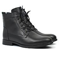 Ботинки мужские зимние классические на меху модельная обувь Rosso Avangard Whisper 2 Combi Leather, фото 1