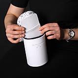 Поясная сумка-колба с отдельными секциями, цвет белый, фото 3