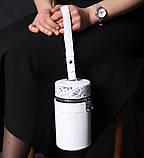 Поясная сумка-колба с отдельными секциями, цвет белый, фото 2