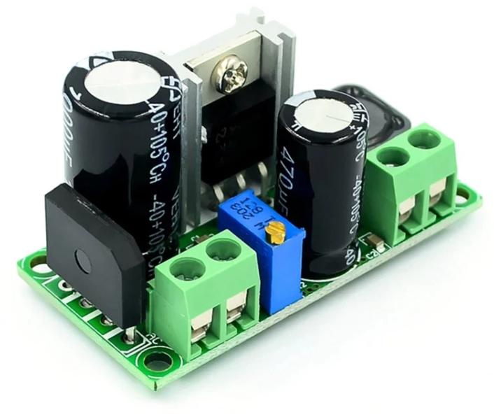 Стабілізатор AC/DC - DC; AC 5-30В / DC 5-50В - DC 3.3-33В