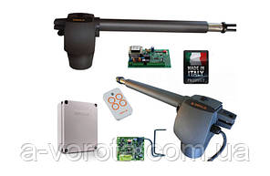 Faac G-bat 400mini комплект для автоматизации распашных ворот(створка до 4м)