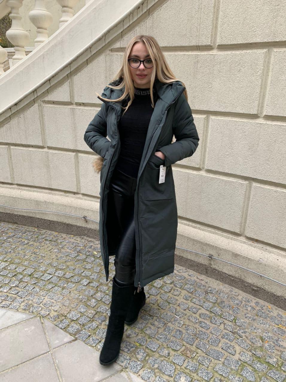 Зимова куртка пальто Visdeer 1951-S31