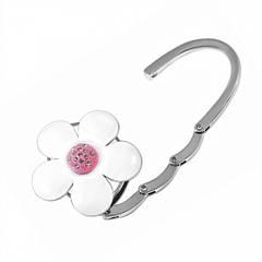 Сумкодержатель белый цветок