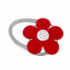 Сумкодержатель красный цветок