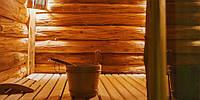 Баня из дикого дерева Электрическая печь, коммерческая баня-5 лет