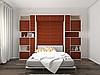 Шкаф-кровать с диваном в гостиную