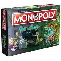 Настольная игра Hobby World Монополия. Рик и Морти (503386)