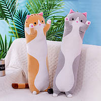 Мягкая игрушка подушка кот антистресс