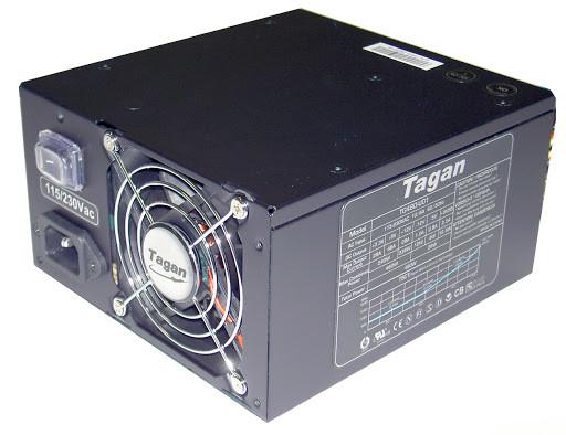 ОЧЕНЬ НАДЕЖНЫЙ БЛОК Питания из ГЕРМАНИИ ATX TAGAN на 480 W  24+4 (+8pin) разъем на процессор c ГАРАНТИЕЙ