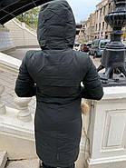 Длинный пуховик пальто Visdeer 1957-S07-haki, фото 5