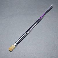 Пензель для гелю з прозорою ручкою №6 рівна