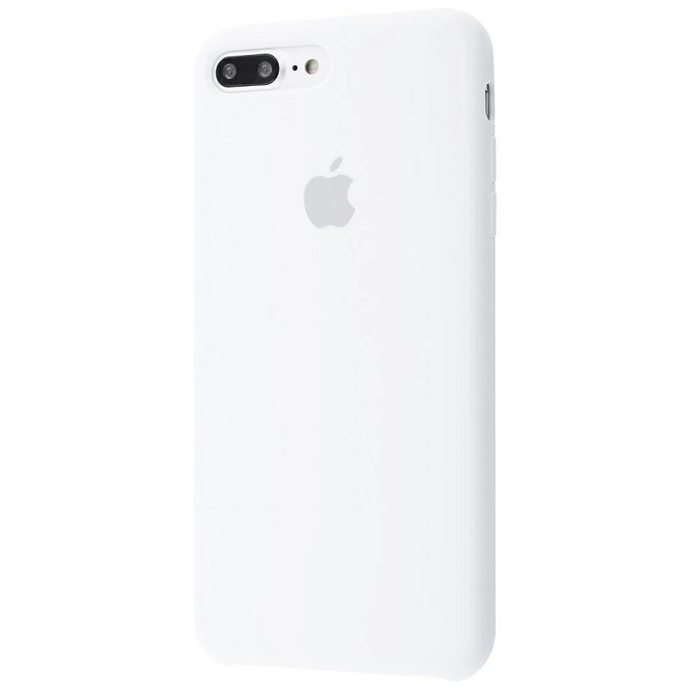 Чехол Silicone Case (Premium) для iPhone 7 Plus / 8 Plus White