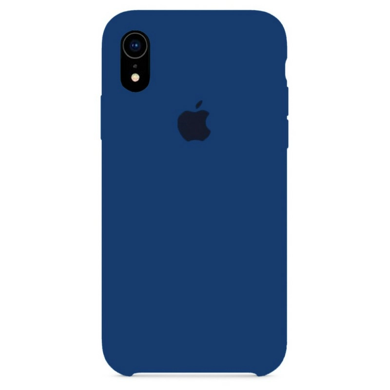 Чехол Silicone Case (Premium) для iPhone Xr Blue Horizon