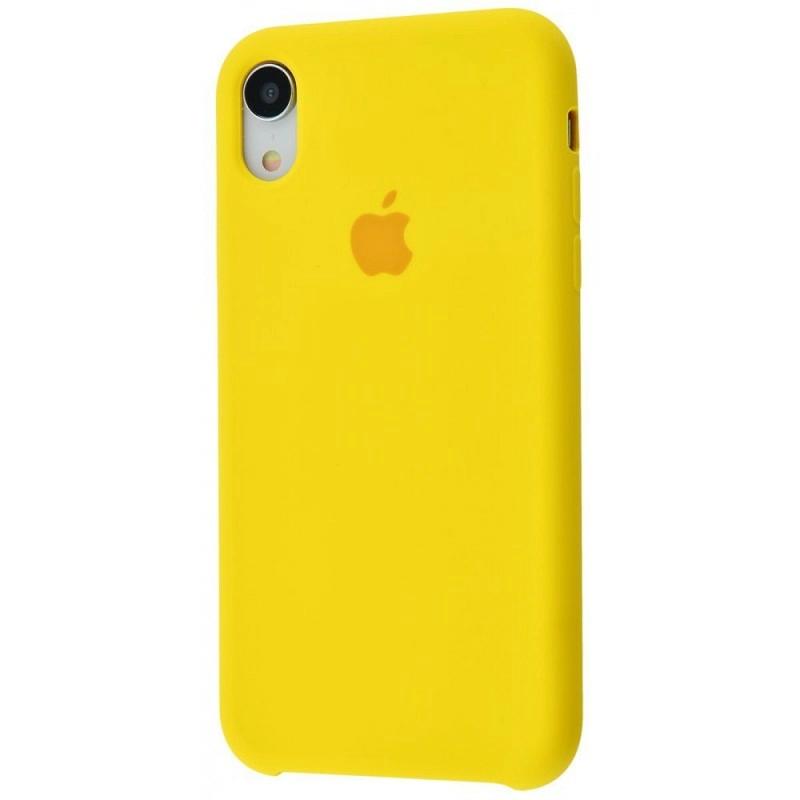 Чохол Silicone Case (Premium) для iPhone Xr Canary Yellow