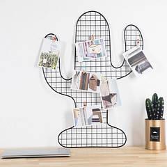 Настінний органайзер Мудборд (moodboard) дошка візуалізації і планування, 40*48 см, чорний