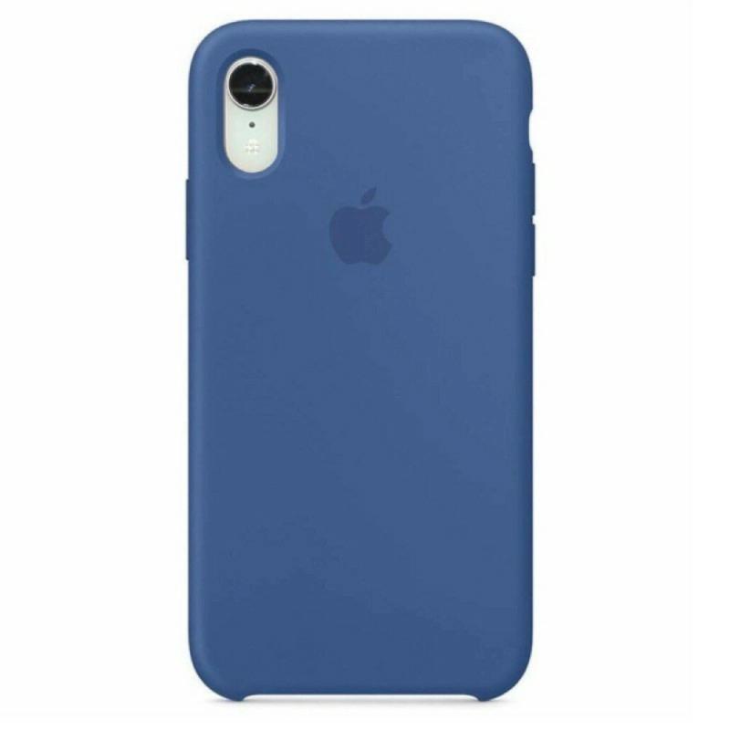 Чохол Silicone Case (Premium) для iPhone Xr Delft Blue