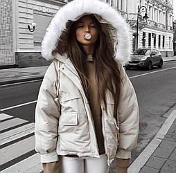 😜Куртка женская белая