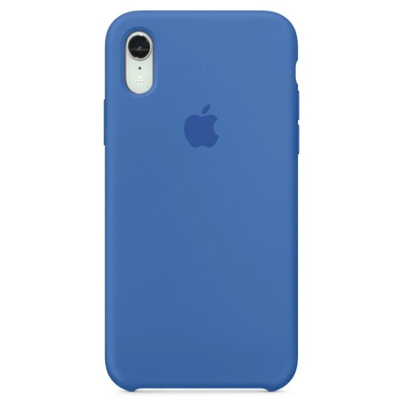Чехол Silicone Case (Premium) для iPhone Xr Denim Blue