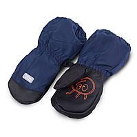 Термоварежки детские.Варежки для мальчика из плащевки TuTu арт. 3-005102 (1-2, 2-4, 4-6  лет)