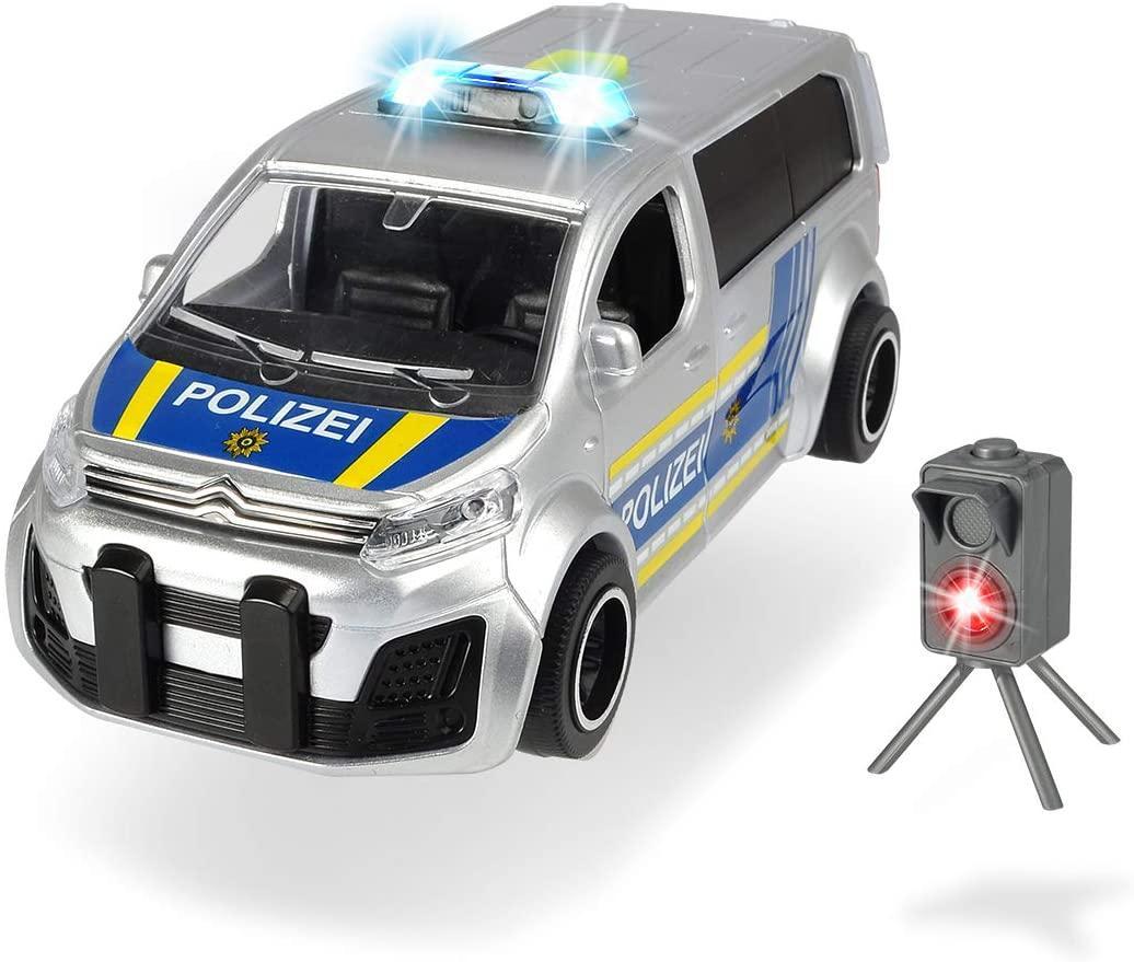 Автомобиль SOS. Полиция Ситроен со звуковыми и световыми эффектами Dickie toys 3713010
