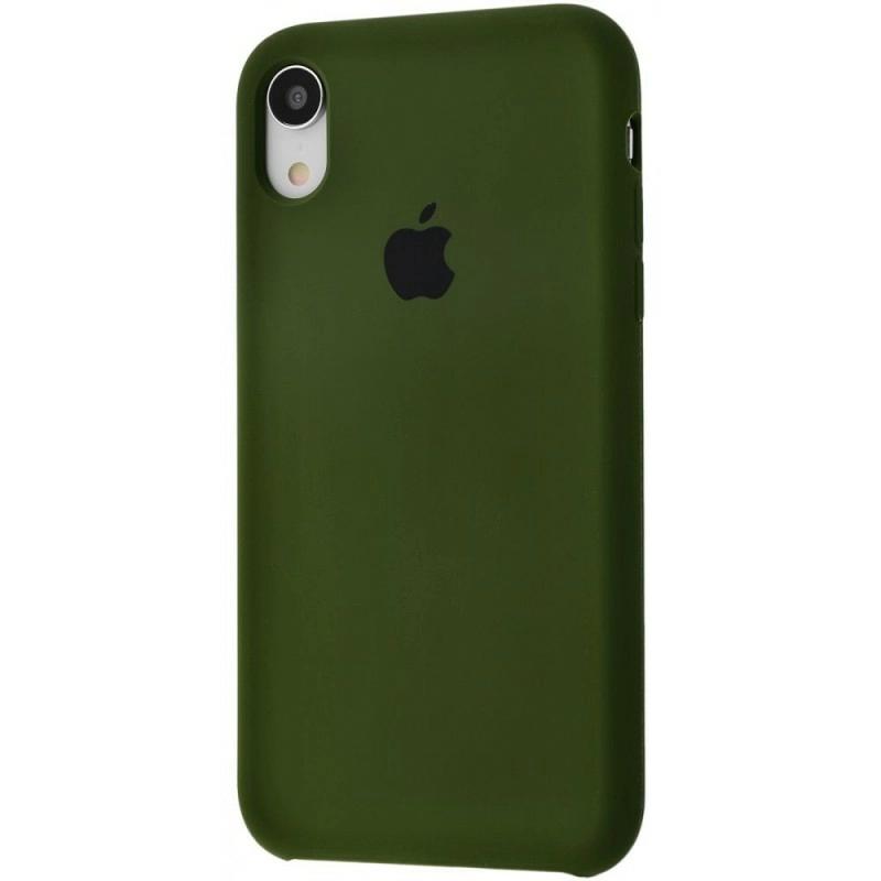 Чохол Silicone Case (Premium) для iPhone Xr Virid