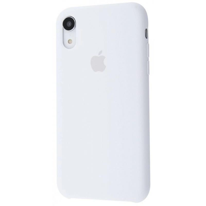 Чохол Silicone Case (Premium) для iPhone Xr White