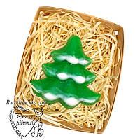 Мыло новогоднее, новогодний подарок, елка ручной работы