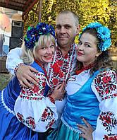 Весільний одяг для наречених в українському стилі